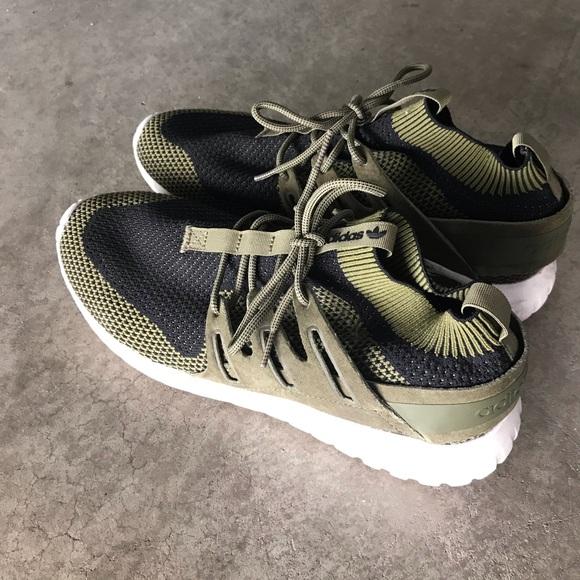 1c09c7fd4c74ac adidas Other - Adidas tubular nova pk olive green boost
